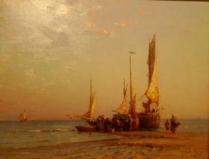 MPE  Retour de pêche Georges Ricard Cordingley.JPG